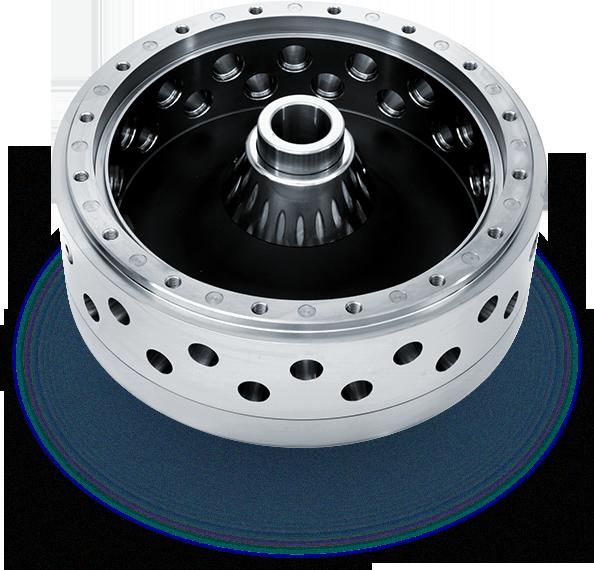 Case Titanium atomizer wheel