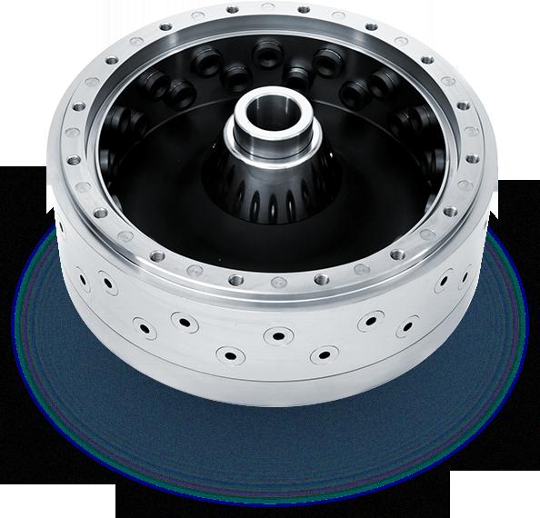Nozzle Titanium atomizer wheel