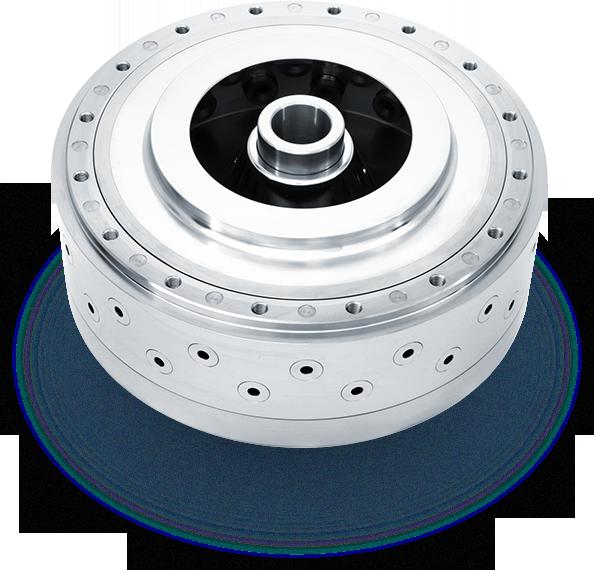 Separate Upper Wear Ring Titanium atomizer wheel