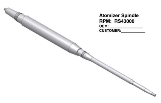 Atomizer Spindle rs43000