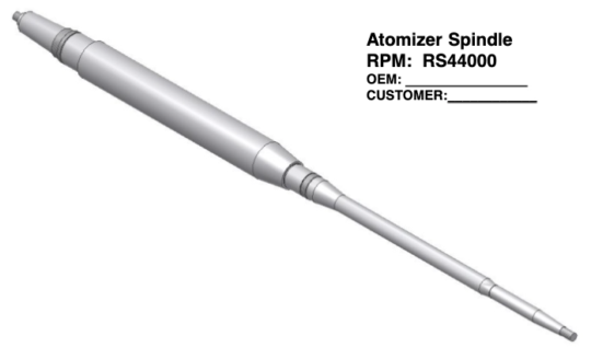 Atomizer Spindle-rs44000