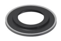 Upper Wear Ring-Ceramic-Titanium - RS85006-C-T