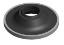 Ceramic Lower Wear Ring-Modified-Titanium - RS85007-M-T