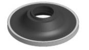 ceramic lower wear ring mod titanium