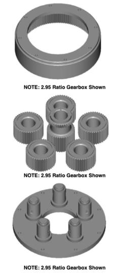 2.65 Ratio Gearbox